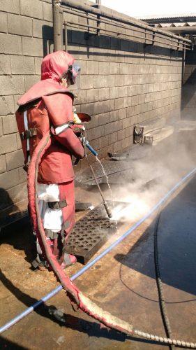 hidrojateamento de ultra pressão